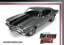 1970 Chevelle SS454 Shadow Gray 1:18 Auto World 986
