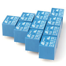 10 PCS Mini Power Relay SPDT SRD-12VDC-SL-C 10A PCB 12V DC Potere