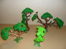 PLAYMOBIL FOREST TREES (For Western,Zoo animals,farm,train set)