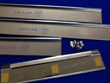 Jaguar Mk2 tread Plates  �� Door Sills Stainless Steel  Etched Logo