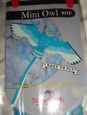 "MINI-OWL READY TO FLY KITE, AGE 3+ ,21"" X 8"" X 20m BNIP"
