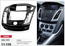 "CARAV 11-158 2Din Kit de instalaciуn de radio FORD Focus III (with 3.5"" display)"