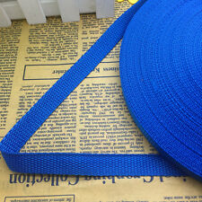 New 5 Yards Length 5/8 (15mm)Wide Nylon Webbing Banding Strapping Blue