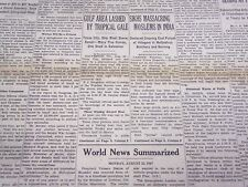 1947 AUGUST 36 NEW YORK TIMES - SIKHS MASSACRING MUSLIMS IN INDIA - NT 3487