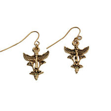 Egyptian Egypt Maat Goddess Earrings Set of 2.Concept of Truth.Fashion Jewelry