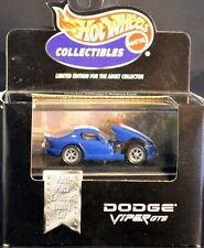 DODGE VIPER GTS, Red, White & Blue, Hot Wheels 1:64, SHIPS FAST, NEW in Box!
