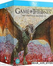 GAME OF THRONES 1-6 2011-2016: KINGS SWORDS DRAGONS WINTER TV Series NEW BLU-RAY