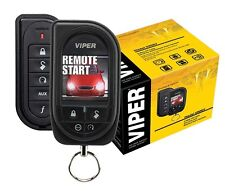 Viper Car Remote Start & Alarm 1 Mile Range Color OLED 2-Way Remote 5906V New