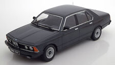 KK SCALE MODELS 1977 BMW 733i E23 Black Metallic LE of 1000 1/18 Scale In Stock!