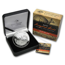 2014 1 oz Proof Silver Australian Kangaroo Coin - Box and Certificate -SKU#78397