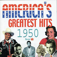 America's Greatest Hits, Vol. 1: 1950 by Various Artists (CD, Mar-2005, Acrobat)