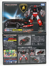 Japan Ver Takara Tomy TRANSFORMERS Masterpiece MP-12G SIDESWIPE Lambor G2 Black