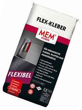 MEM adhésif flexible 25 kg colle à carrelage Carreaux de mur pour sol lz