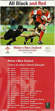 New Zealand All Blacks v Wales rugby history DVD 1905 - 2003