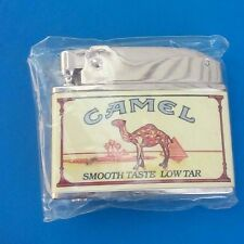 Vintage Firebird Made In Japan Camel Flat Advertising Cigarette Lighter (NEW)