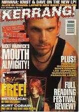 The Almighty on Kerrang Cover 1994     Bon Jovi    Metallica    Machine Head