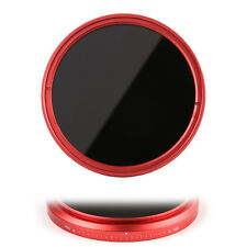 FOTGA 72mm Slim Fader ND Filter Variable ND2 ND4 ND8 to ND400 for Canon Red Ring