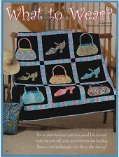 """What To Wear   Finished Size- 52""""x52""""    Quilt  Pattern Only"""