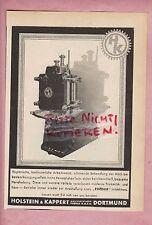 DORTMUND, Werbung 1950, Holstein & Kappert Maschinen-Fabrik Phönix GmbH Milchfla