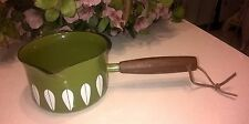 Vintage Cathrineholm lotus Norway warmer sauce pan excellent