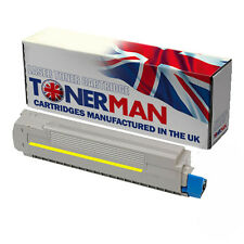 Re-Manufactured Yellow Toner Cartridge for Oki MC860: 44059209: 10,000 pages