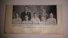 Shamrocks Ithaca New York 1911-12 Basketball Team Picture RARE!