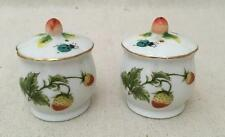 1 Set Salt and Pepper Sharkers with Butterflies, Lady Bugs,Strawberries, Flowers