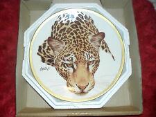 "Collectors plate "" Jaguar"" from the Great Cats Of The World Collection"
