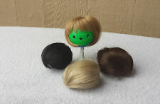 "Doll Wig - W276 Tiny Wig size 3""(head): CHOICE of color."
