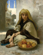 Bouguereau William The Pomegranate Seller Print 11 x 14 #3574