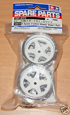 Tamiya 50673 5-Spoke 2-Piece Wheels Wide (1 Pair) Nismo GT-R/Toyota Tom's Supra