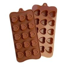 Heart with Border Candy Silicone Chocolate Mold Love Tray Bake Ice Cube Fondant