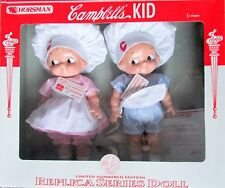 Horsman limited numbered Edition Campbell's Kids Chef Doll Set, 1997