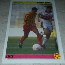 CARD JOKER 1994 LECCE RUSSO CALCIO FOOTBALL SOCCER ALBUM