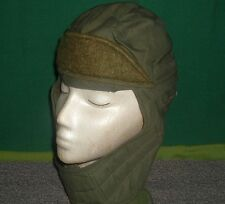 ARMY USMC COLD WEATHER INSULATED CAP W/ VELCRO CLOSURE SIZE 6 1/2
