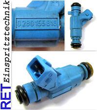 Einspritzdüse BOSCH 0280155816 Fiat Punto Brava Palio 1,2 gereinigt & geprüft