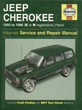 Jeep Cherokee 2.5, 2.8 y 4.0 litros de gasolina de 1993 - 1996 Servicio y Reparación Manual