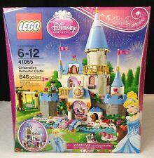New LEGO Disney Princess # 41055 Cinderella's Romantic Castle 646 Pcs Building