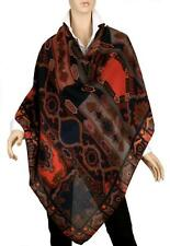 NEW ETRO OVERSIZED EXTRA LARGE PAISLEY  WOOL SILK SHAWL WRAP SCARF