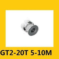 20 T GT2 Timing Pulley Bore 5mm Pitch 2mm For Belt W=9mm 2GT Pulley 3D Printer