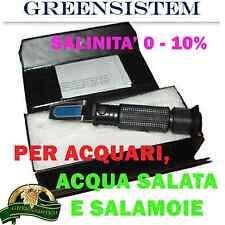 RIFRATTOMETRO MR 100 - SALINITA'