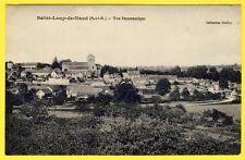 cpa 77 - SAINT LOUP de NAUD (Seine et Marne) Vue Panoramique du Village