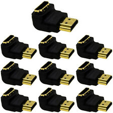 Lot10 HDMI Elbow,Up/Down Angle 90degree Plug/Male~Female/Jack cable/cord Adapter