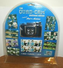 QUAD CAM PLATINUM EDITION 35MM LOMOGRAPHY SPECIAL EFFECTS CAMERA NEW