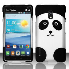For LG Optimus F7 US780 Rubberized HARD Protector Case Snap On Phone Cover Panda