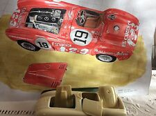 FERRARI 375 + Carrera Panamericana 1954  FPPmodelos 1/24 unassembled model kit