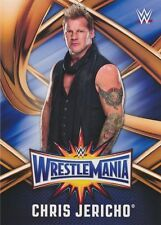 #18 CHRIS JERICHO 2017 Topps WWE Road Wrestlemania ROSTER