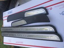 2009 NISSAN ALTIMA DOOR STEP SILL SCUFF COVER TRIM PLATES SET 08 09 10 11 12