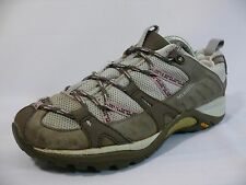 Women's MERRELL Size-7/37.5 Gray/White COMFORT Athletic Sneakers Shoes $110 L9