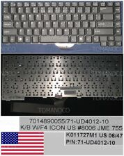 Clavier Qwerty US DOMESTIQUE Packard Bell K011727M1 71-UD4012-10 Noir